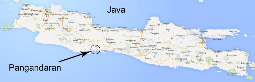 map-java-pangandaran